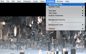 Add Subtitle To Video On VLC Player