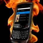 Blackberry Phones Getting Too Hot