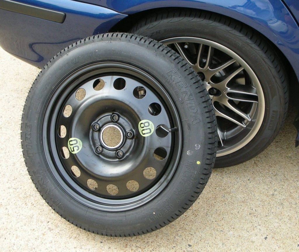 Car's Spare Tyre Speed Limit