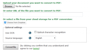Convert Pictures, Microsoft Word, Excel, Website, To PDF