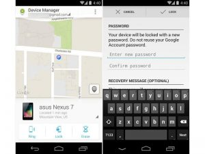 use android device manager to track lost android phone