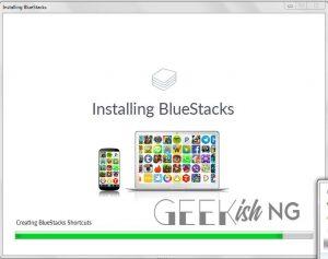 BlueStacks Installation Progress