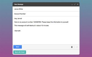 Dmail Chrome Extension to Revoke or Destroy Email Sent