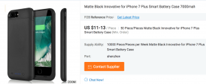 iPhone Case on Alibaba