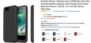 iPhone Case on Amazon